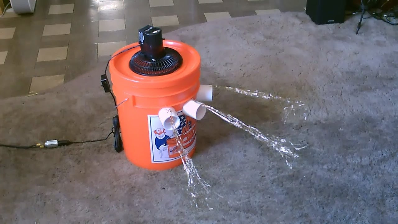 "Best ideas about DIY Air Conditioning . Save or Pin Homemade Air Conditioner DIY The ""5 Gallon Bucket"" Air Now."