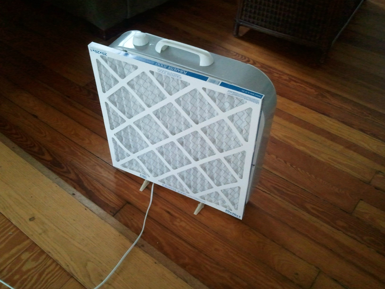 Best ideas about DIY Air Filter . Save or Pin DIY air filter box fan central heating air filter Now.