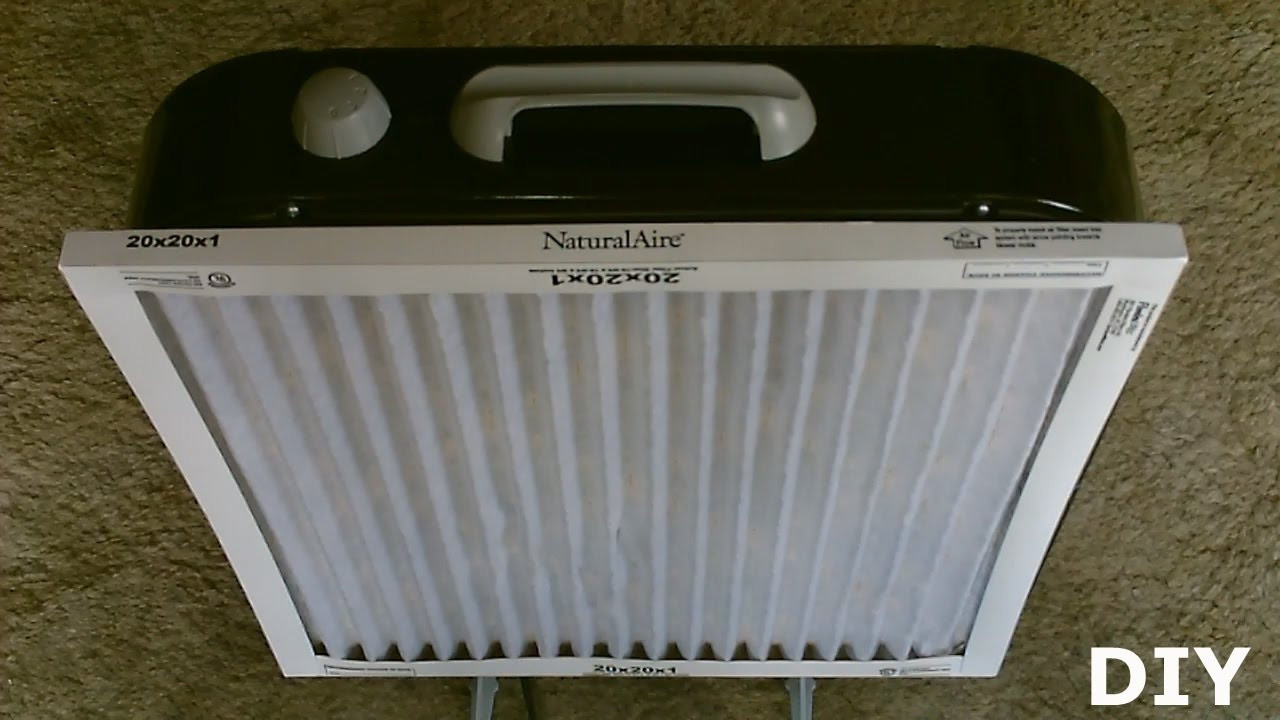 Best ideas about DIY Air Filter . Save or Pin DIY Air Filtration System Homemade Air Purifier Now.