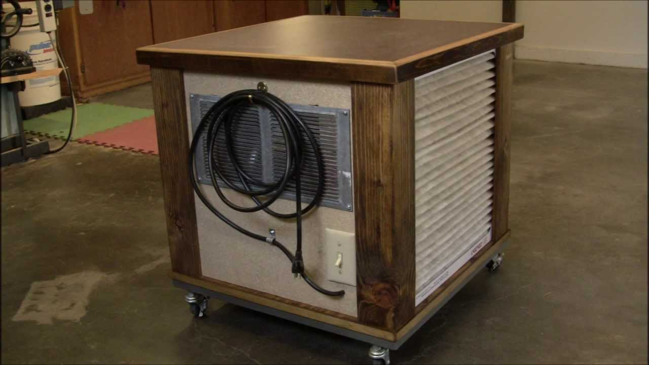 Best ideas about DIY Air Filter . Save or Pin DIY Simple Woodshop Air Filtration System Now.
