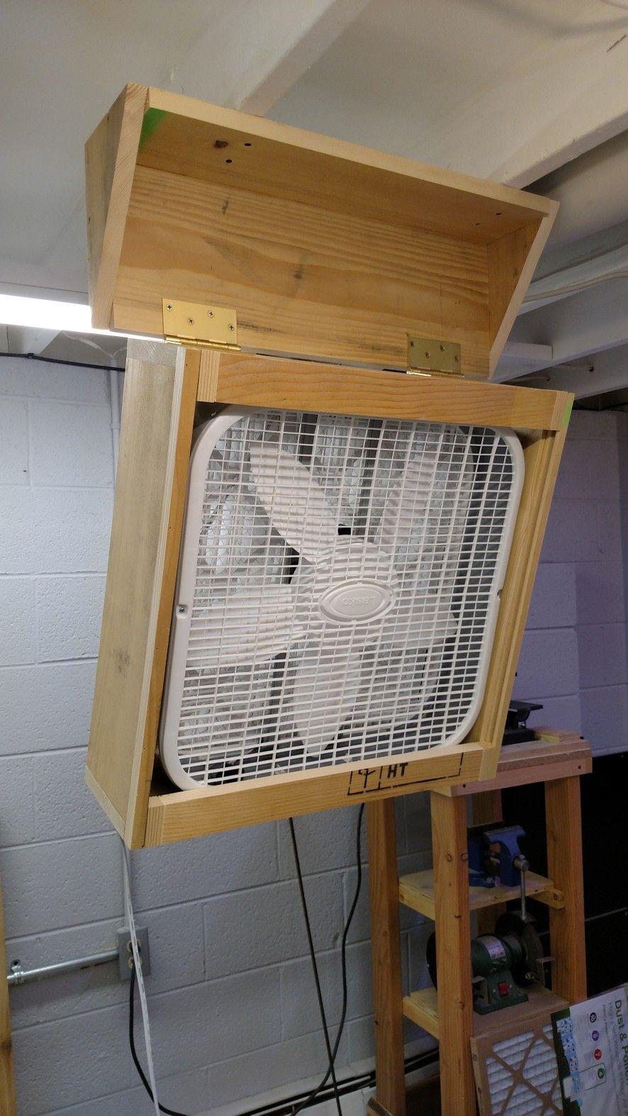 Best ideas about DIY Air Filter . Save or Pin DIY Woodshop Air Filter in 2019 FUN FOR ALEX Now.