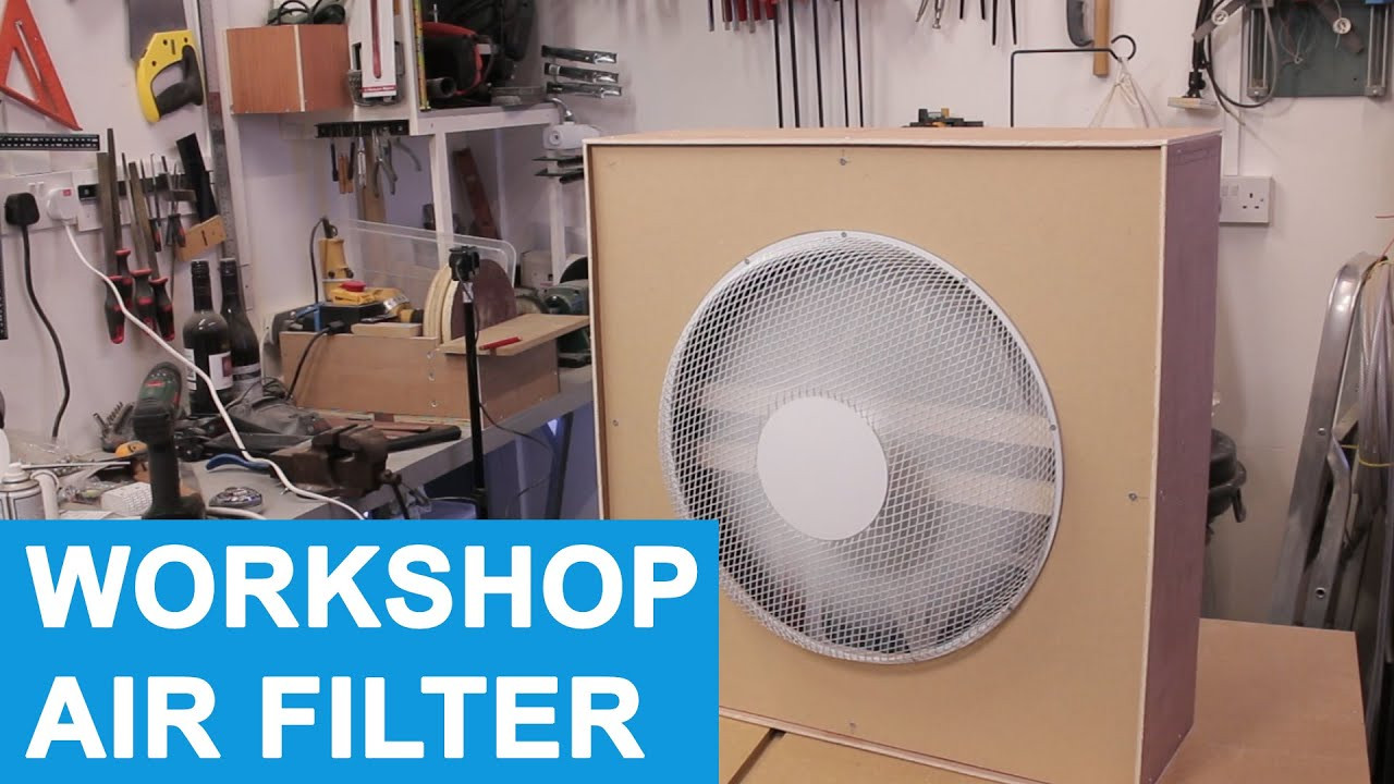 Best ideas about DIY Air Filters . Save or Pin DIY Workshop Air Filter Cleaner Evening Build Now.