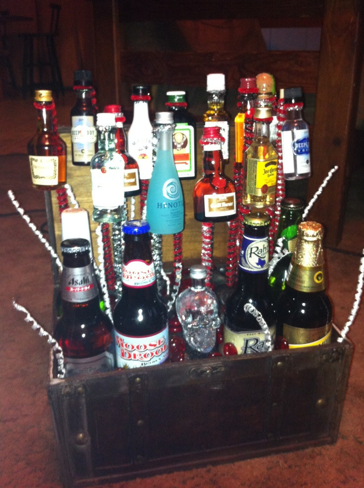 Best ideas about DIY Alcohol Gift Baskets . Save or Pin Best 25 Liquor t baskets ideas on Pinterest Now.