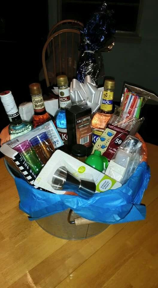 Best ideas about DIY Alcohol Gift Baskets . Save or Pin 25 best ideas about Alcohol Gifts on Pinterest Now.
