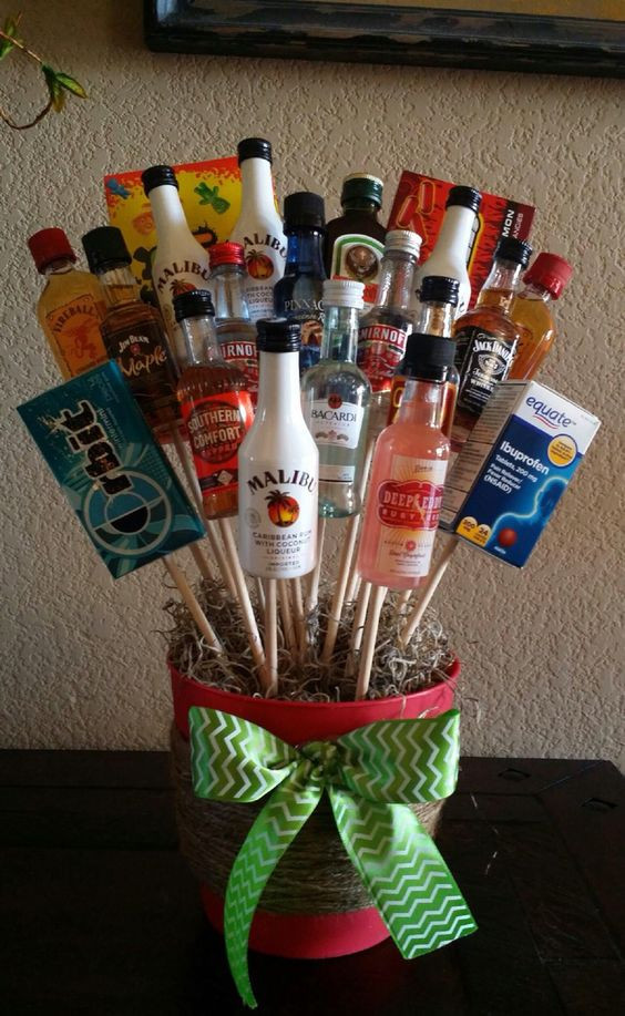 Best ideas about DIY Alcohol Gift Baskets . Save or Pin Pinterest • The world's catalog of ideas Now.