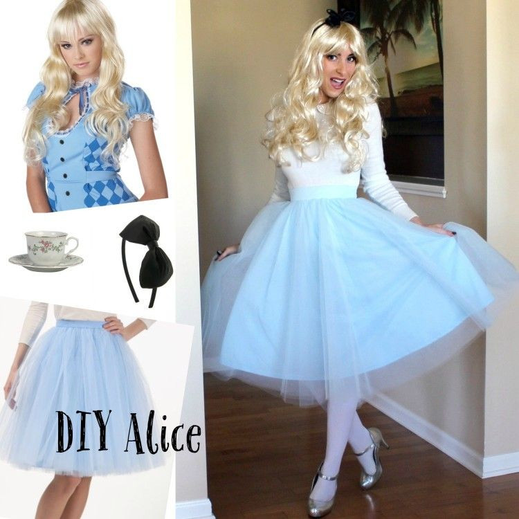 Best ideas about DIY Alice In Wonderland Costumes . Save or Pin DIY Alice in Wonderland costume DIY DisneyCostume Now.