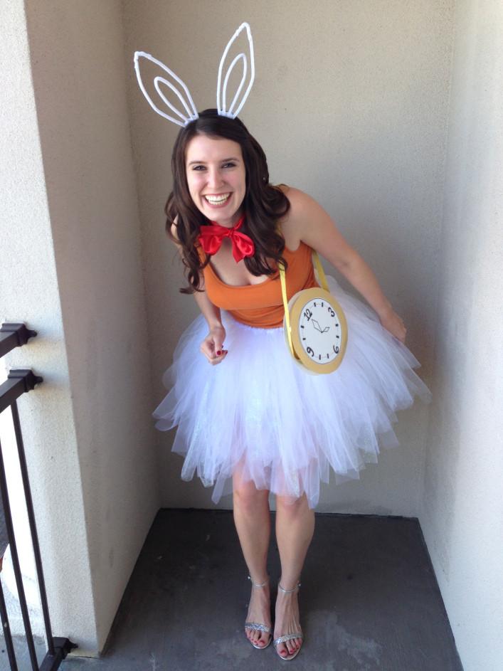 Best ideas about DIY Alice In Wonderland Costumes . Save or Pin Alice in Wonderland Rabbit DIY Costume – Bunny Baubles Now.