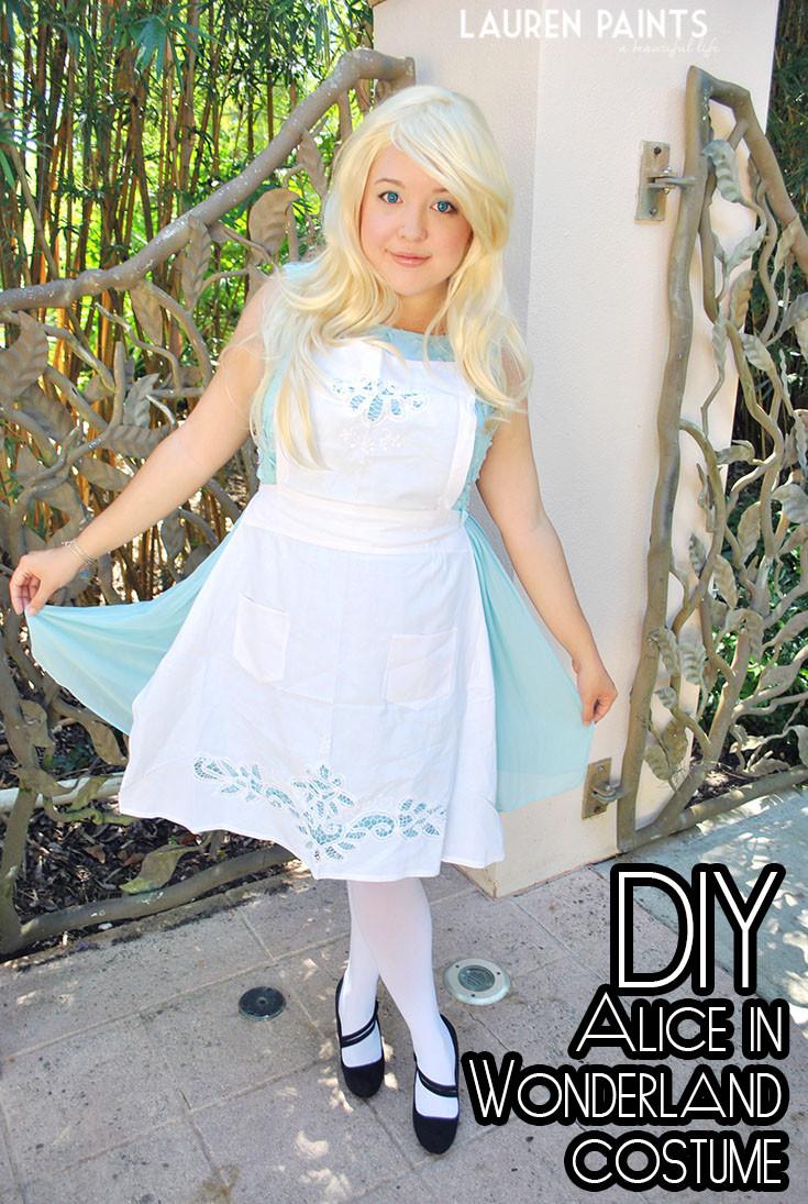 Best ideas about DIY Alice In Wonderland Costumes . Save or Pin DIY Alice in Wonderland Halloween Costume Now.