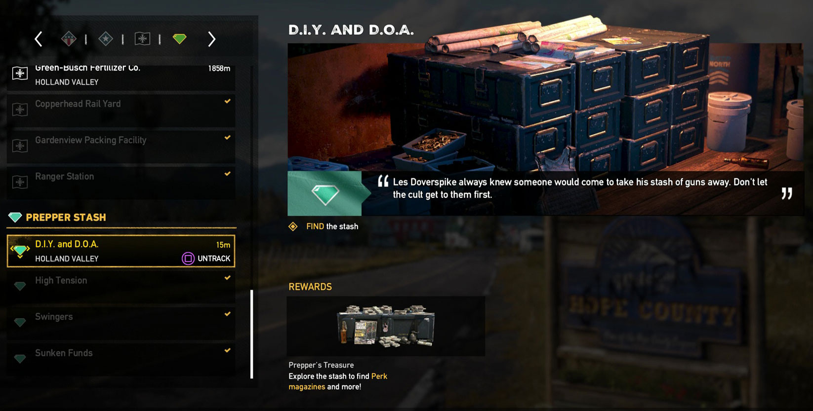 Best ideas about DIY And Doa Far Cry 5 . Save or Pin Far Cry 5 DIY & DOA Prepper Stash How to Unlock Door Now.