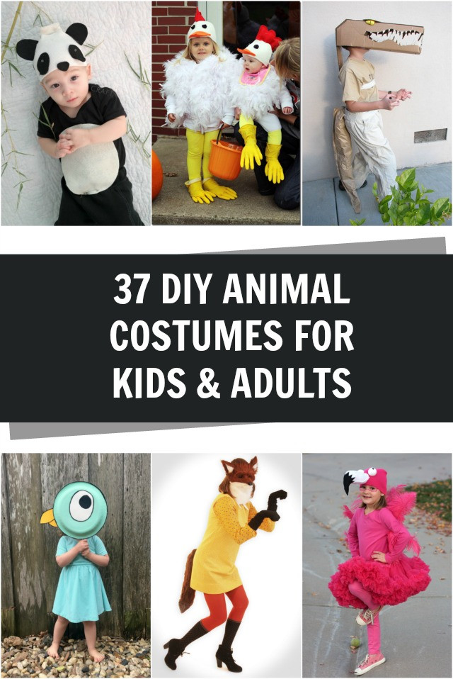 Best ideas about DIY Animal Costume . Save or Pin 37 Homemade Animal Costumes C R A F T Now.