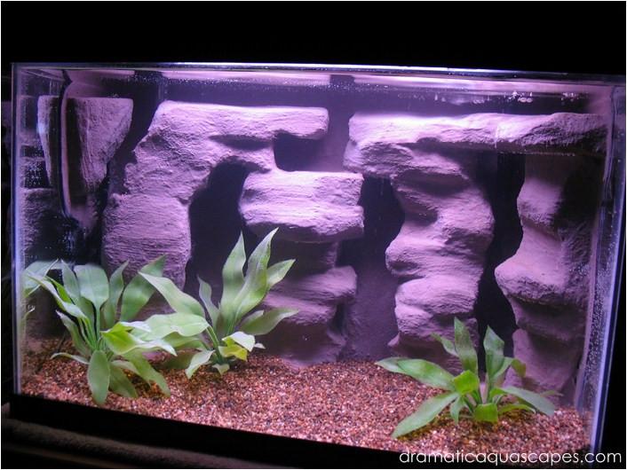 Best ideas about DIY Aquarium Background . Save or Pin Dramatic AquaScapes DIY Aquarium Background Rock Columns Now.