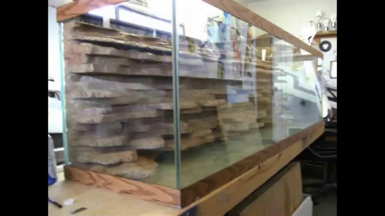 Best ideas about DIY Aquarium Background . Save or Pin DIY aquarium background Now.