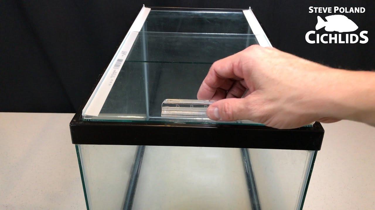 Best ideas about DIY Aquarium Lid . Save or Pin How to Make Sliding Glass Aquarium Lids Now.