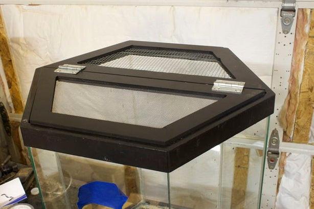 Best ideas about DIY Aquarium Lid . Save or Pin DIY LED Hood for a 20 Gallon Hexagon Aquarium Tank Now.