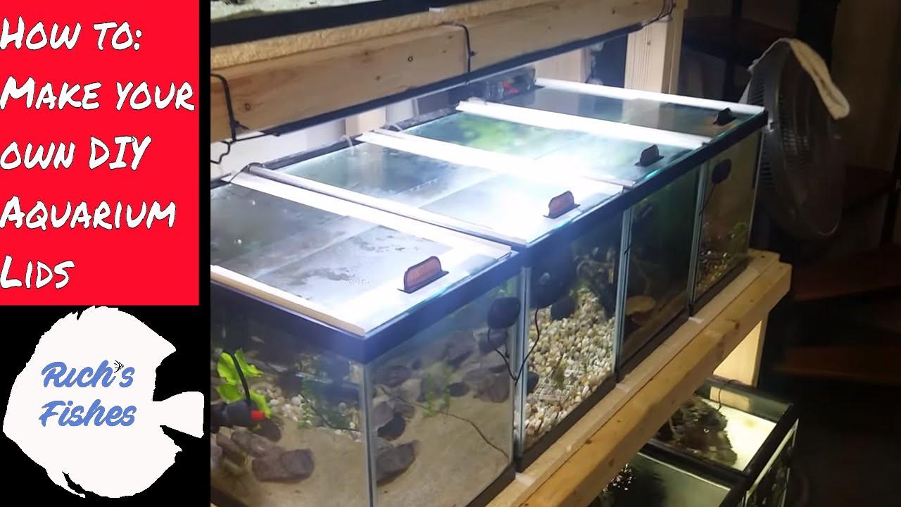 Best ideas about DIY Aquarium Lid . Save or Pin how to 🐠DIY sliding aquarium glass fish tank lids tops Now.