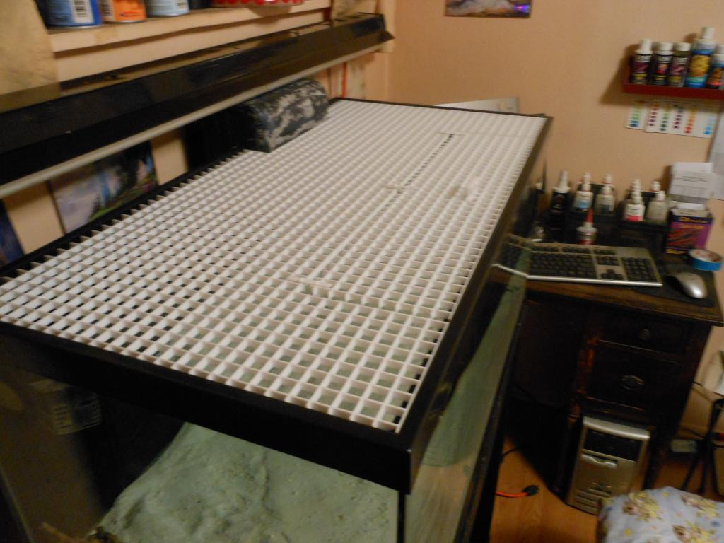 Best ideas about DIY Aquarium Lid . Save or Pin DIY Aquarium Lid for 90 Gal Aquarium Advice Aquarium Now.