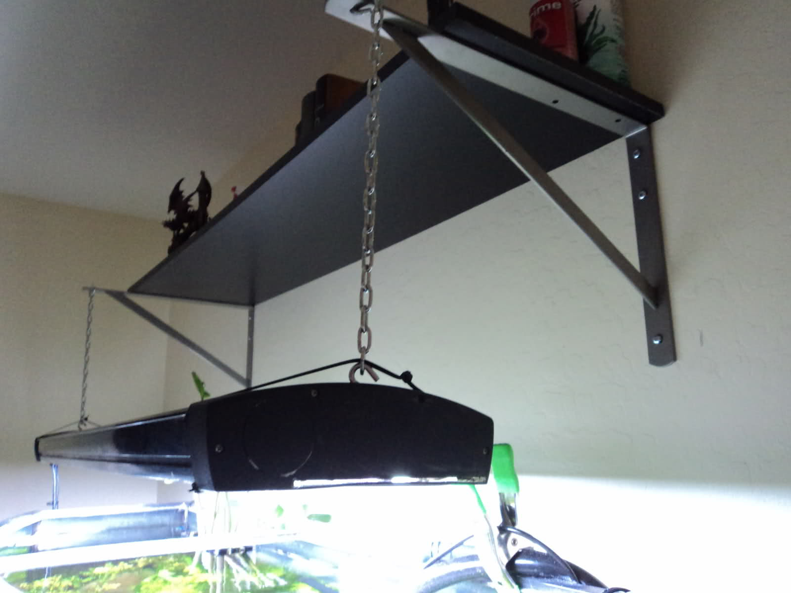 Best ideas about DIY Aquarium Light . Save or Pin diy light hanger Lamps and lighting Now.