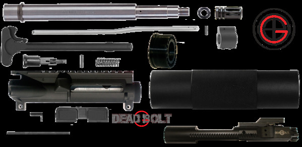 "Best ideas about DIY Ar 15 Kits . Save or Pin DIY 10 5"" Free Float AR15 Pistol Upper Receiver Kit Now."