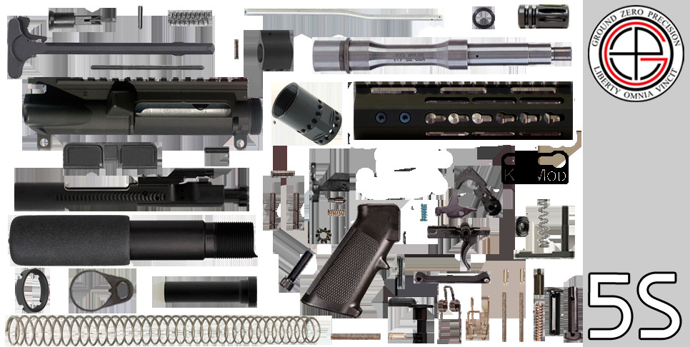 "Best ideas about DIY Ar 15 Kits . Save or Pin DIY 7 5"" Stainless 223 5 56 Free Float AR 15 Pistol Now."