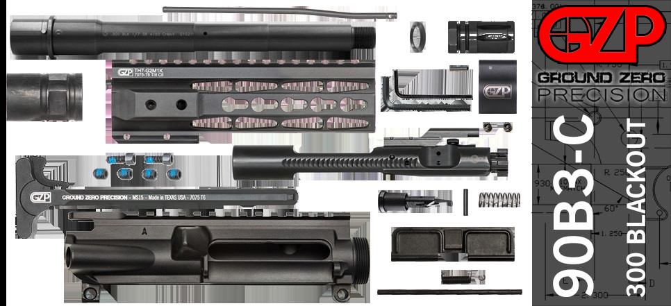 "Best ideas about DIY Ar 15 Kits . Save or Pin DIY 9"" Ballistic Advantage 300 Blackout AR 15 Upper Now."
