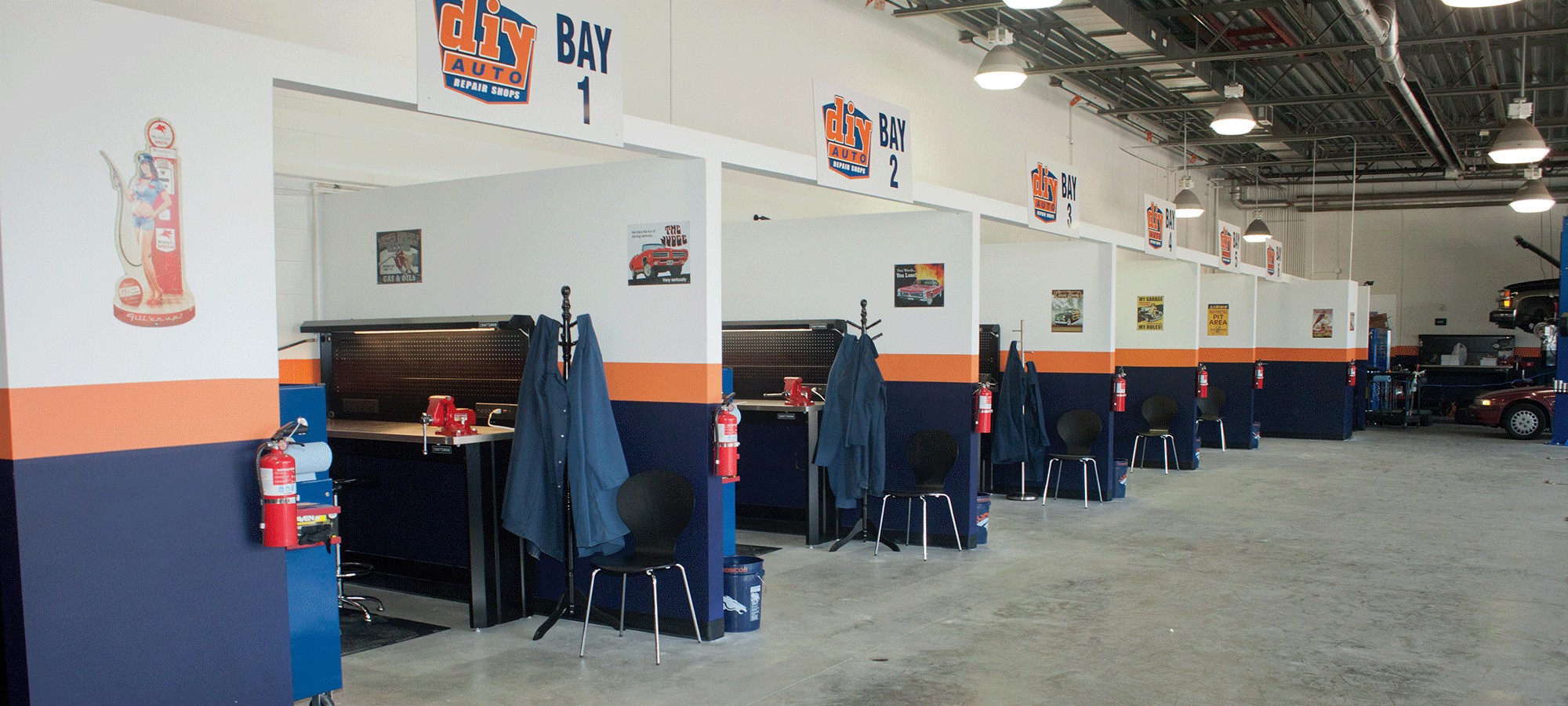 Best ideas about DIY Auto Repair Shop Near Me . Save or Pin DIY Auto Repair Shops Equipped Self Service Garage Bays Now.