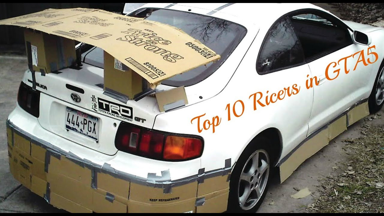 Best ideas about DIY Autobody Repair . Save or Pin Top 10 Ricers in GTA5 Now.