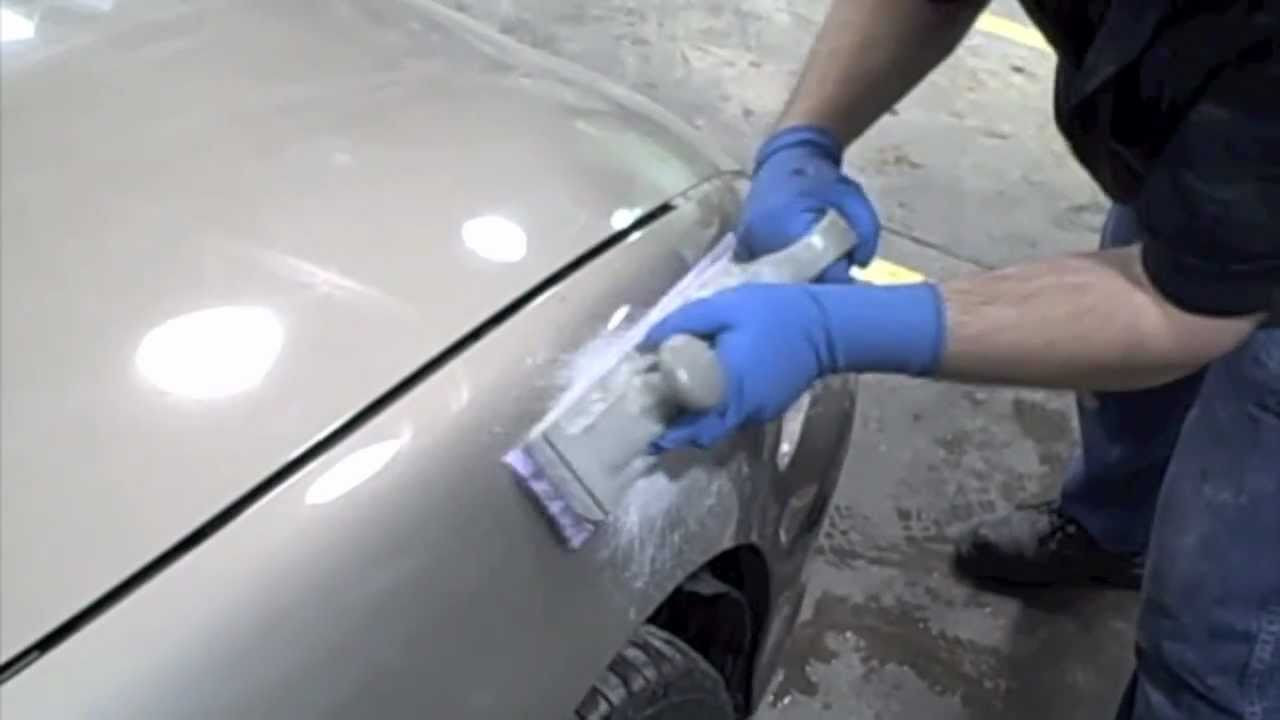 Best ideas about DIY Autobody Repair . Save or Pin DIY How To Fix Dents In Your Car Spread Body Filler Now.