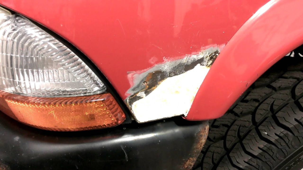 Best ideas about DIY Autobody Repair . Save or Pin DIY Repair a rotted hole without welding in New metal Now.