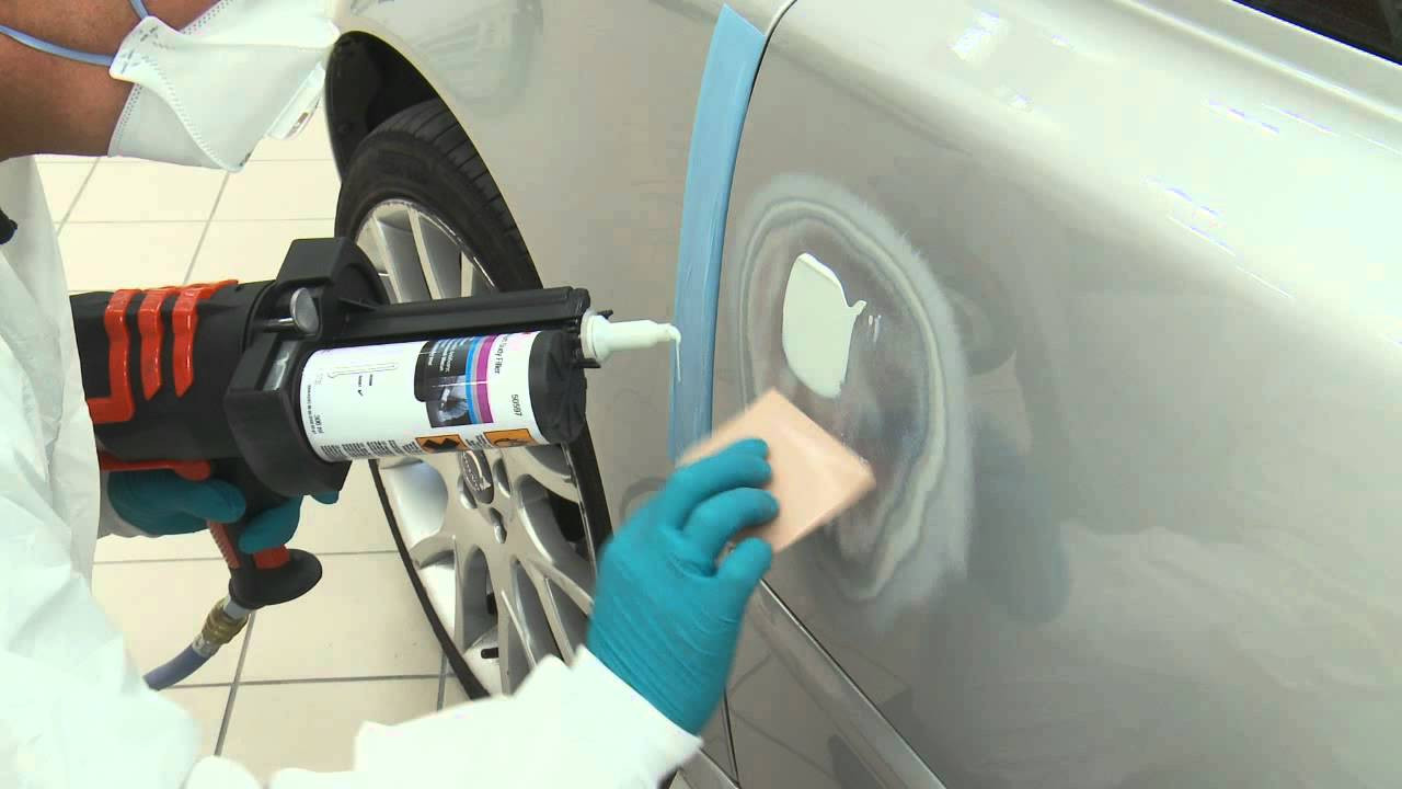 Best ideas about DIY Autobody Repair . Save or Pin Car Panel Repair by 3M Bodyshop [Step 1] Now.