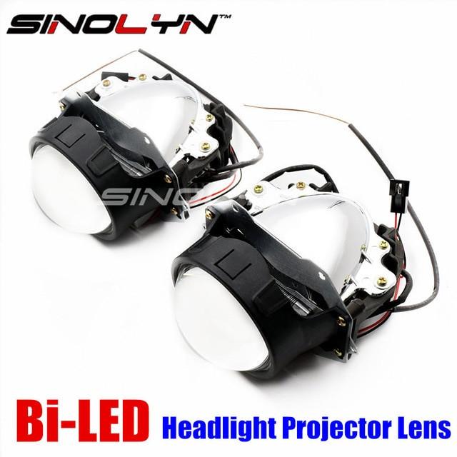 Best ideas about DIY Automatic Headlights . Save or Pin Sinolyn Car Bi LED Projector Lens Headlight Retrofit DIY Now.