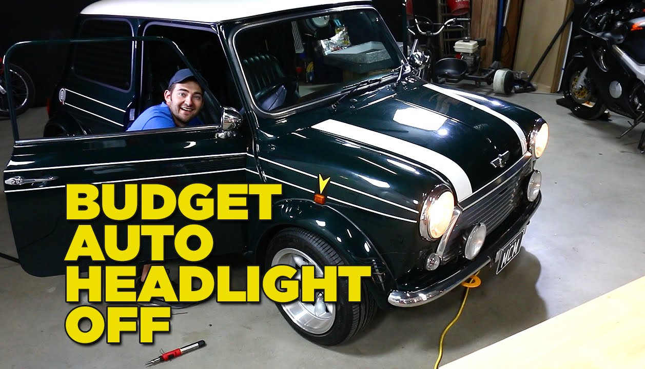 Best ideas about DIY Automatic Headlights . Save or Pin DIY Auto Headlight Mod for $10 Now.