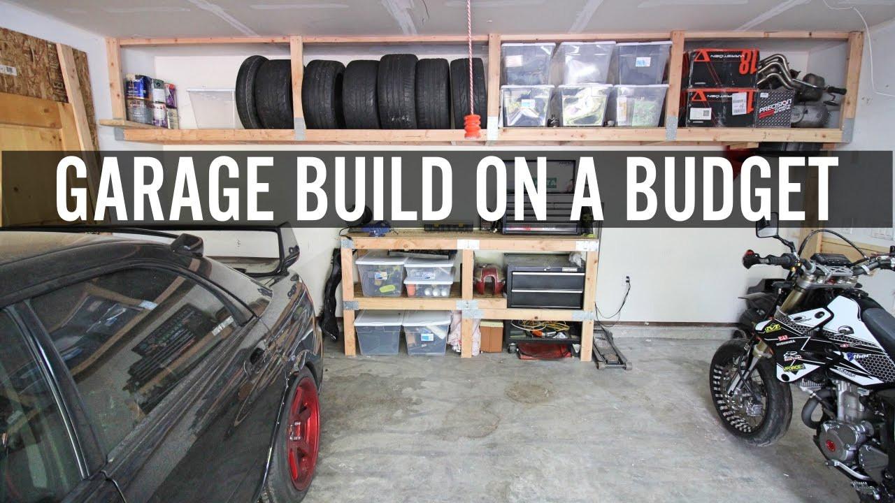 Best ideas about DIY Automotive Garage . Save or Pin DIY Garage Build Part 1 Building Shelves And Tire Rack Now.