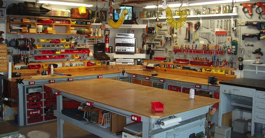 Best ideas about DIY Automotive Garage . Save or Pin Five Pro Tips for Setting up a Garage Workbench for DIY Now.