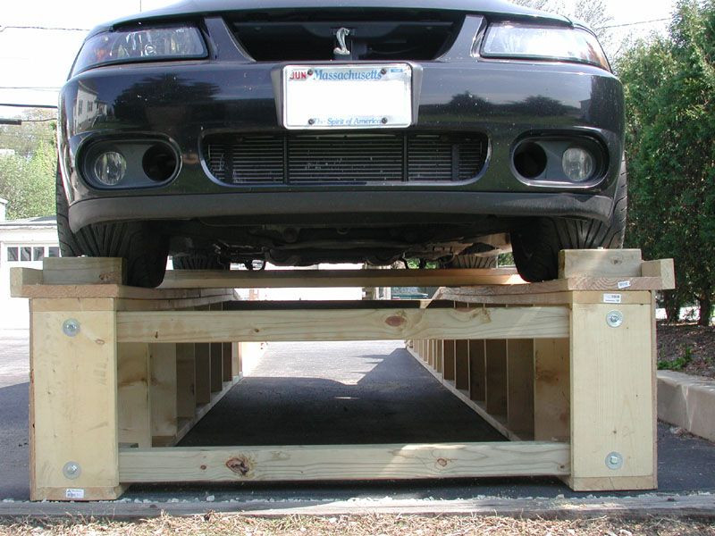 Best ideas about DIY Automotive Garage . Save or Pin homemade car ramp homemade car ramps Workshop Now.