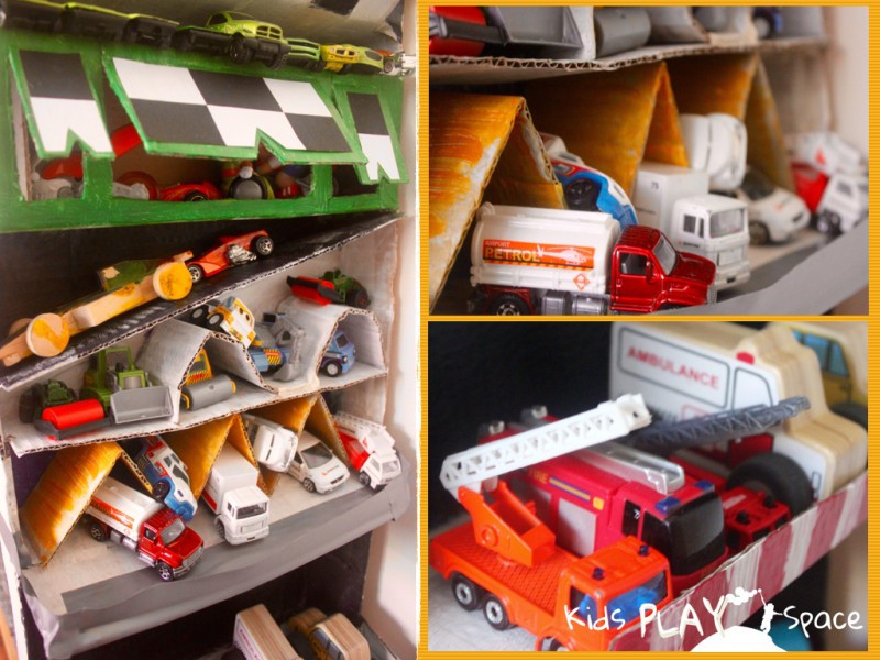 Best ideas about DIY Automotive Garage . Save or Pin DIY Toy Car Garage Now.