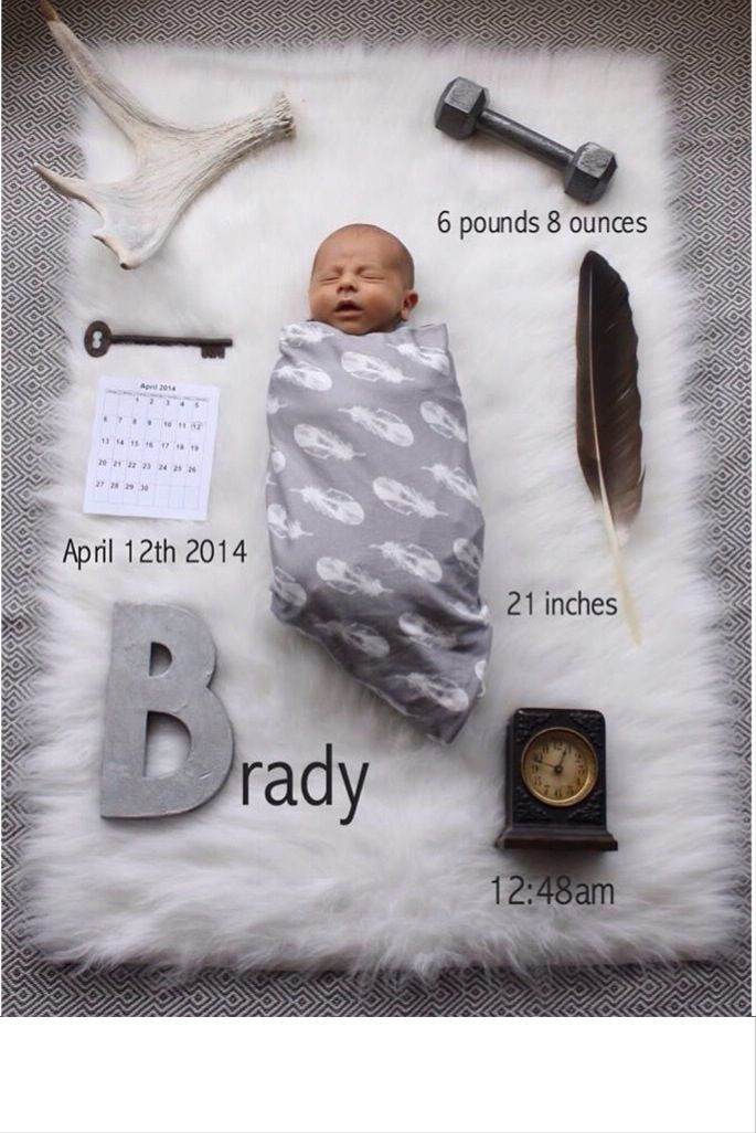 Best ideas about DIY Baby Announcement . Save or Pin baby birth announcement DIY birth announcement birth Now.