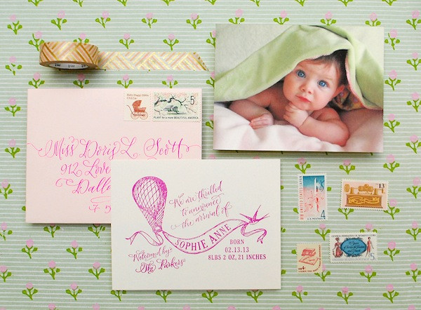 Best ideas about DIY Baby Announcement . Save or Pin Antiquaria DIY Tutorial Now.