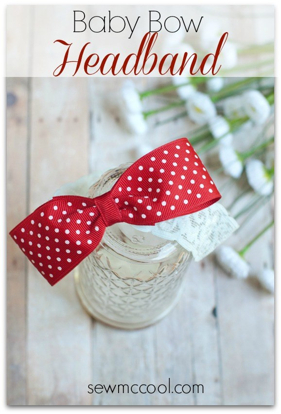 Best ideas about DIY Baby Bow Headband . Save or Pin DIY Baby Bow Headband – In Crafts Now.