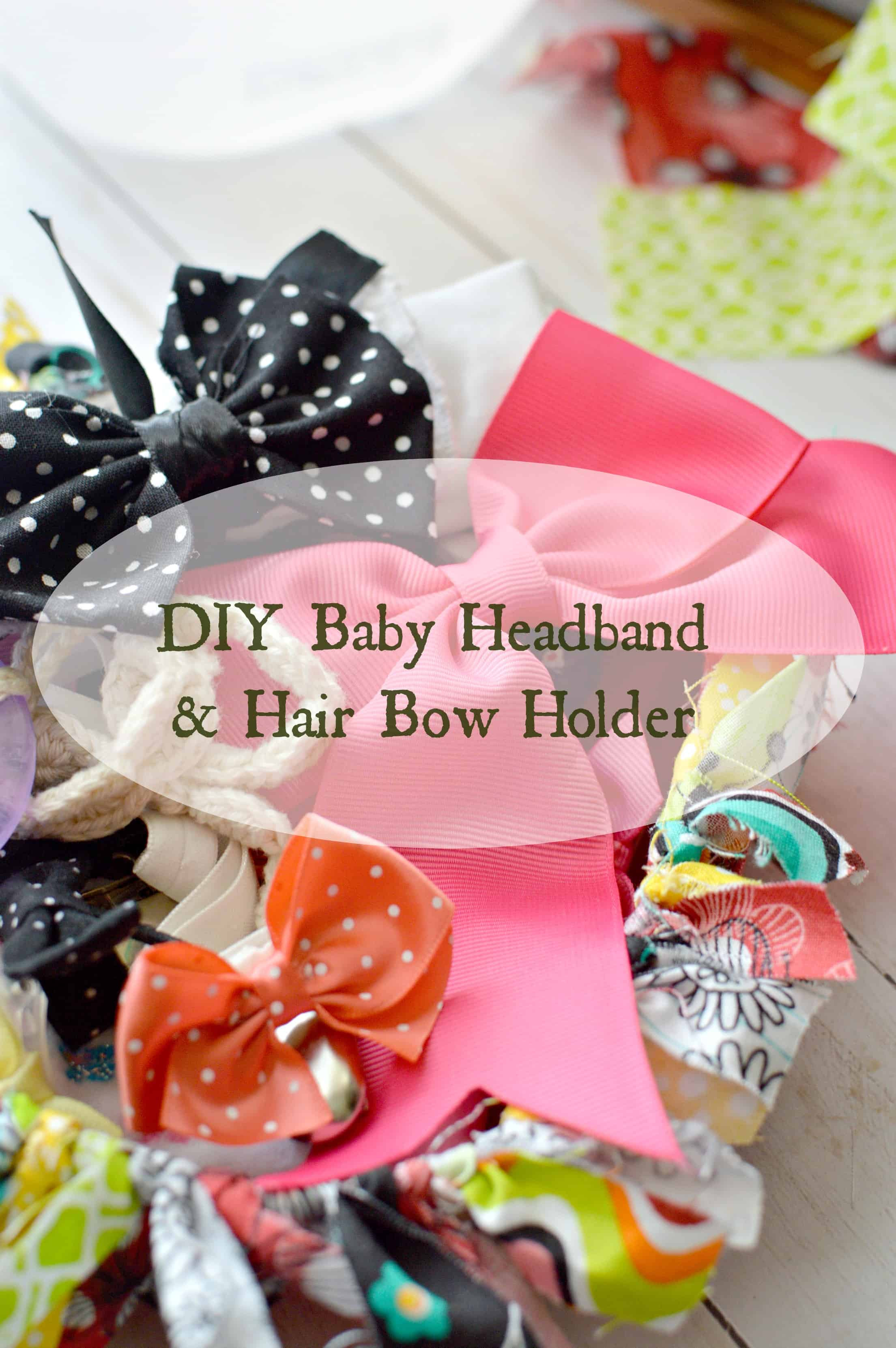 Best ideas about DIY Baby Bow Headband . Save or Pin DIY Baby Headband & Hair Bow Holder Stylish Cravings Now.