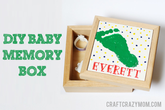 Best ideas about DIY Baby Box . Save or Pin diy tutorial diy baby memory box See Vanessa Craft Now.