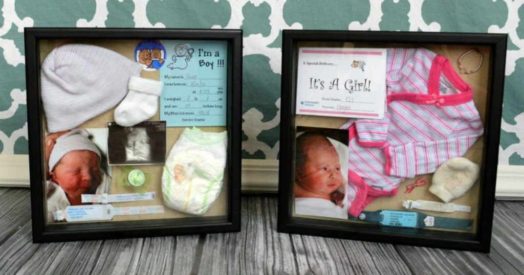 Best ideas about DIY Baby Box . Save or Pin DIY Birth Baby Shadow Box Now.