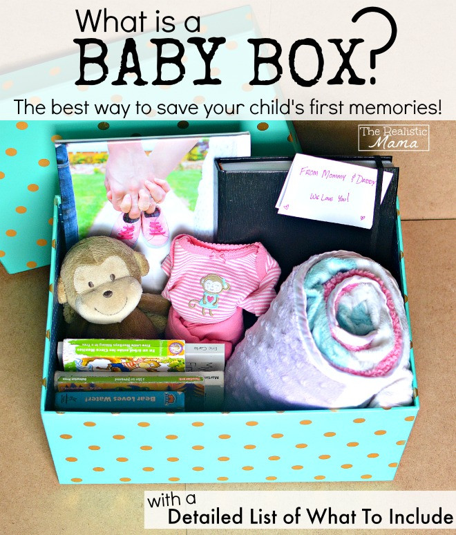 Best ideas about DIY Baby Box . Save or Pin DIY Baby Memory Box The Realistic Mama Now.