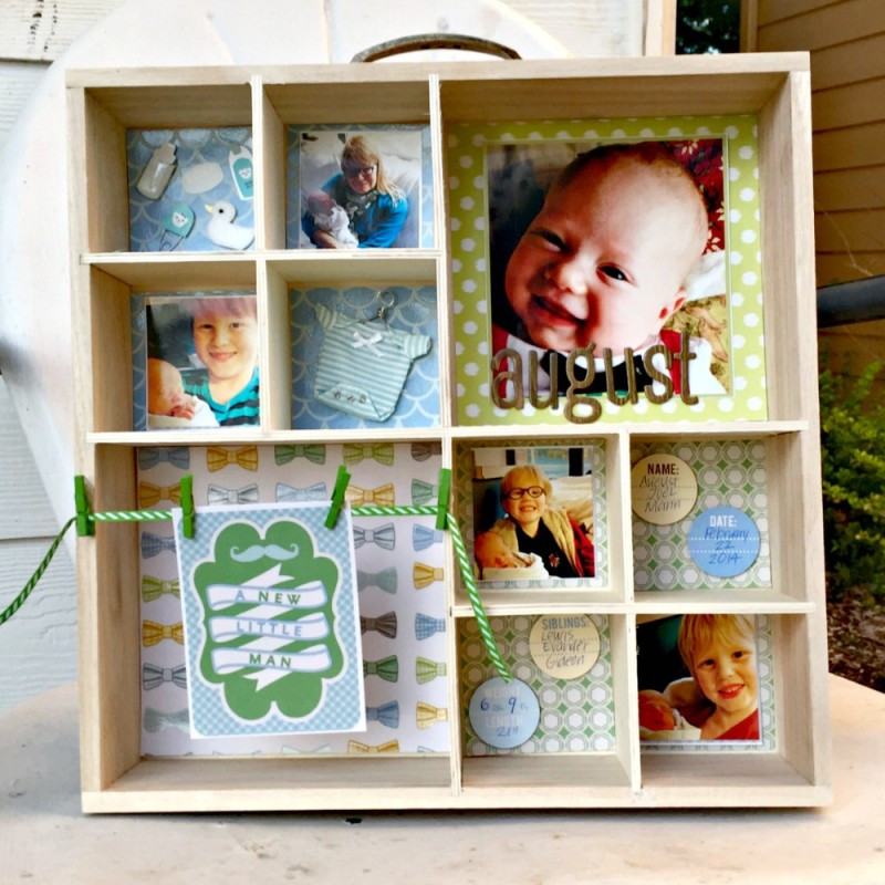 Best ideas about DIY Baby Box . Save or Pin Shadow Box DIY Tutorial for Baby s Darice Now.