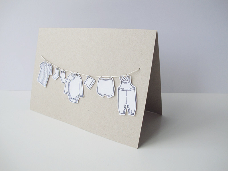 Best ideas about DIY Baby Card . Save or Pin DIY – BABY CARD Now.