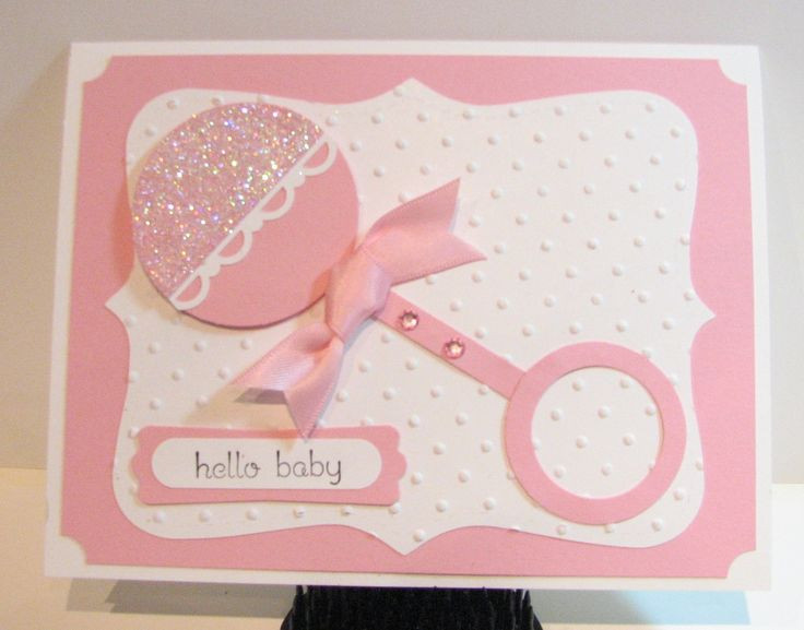 Best ideas about DIY Baby Card . Save or Pin 81 best Baby Shower Cards Girls images on Pinterest Now.