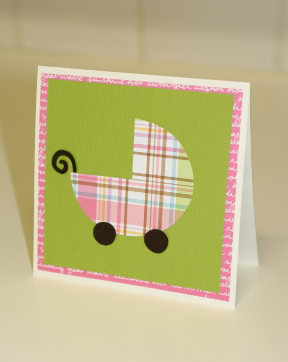 Best ideas about DIY Baby Card . Save or Pin DIY Baby Shower Card Now.