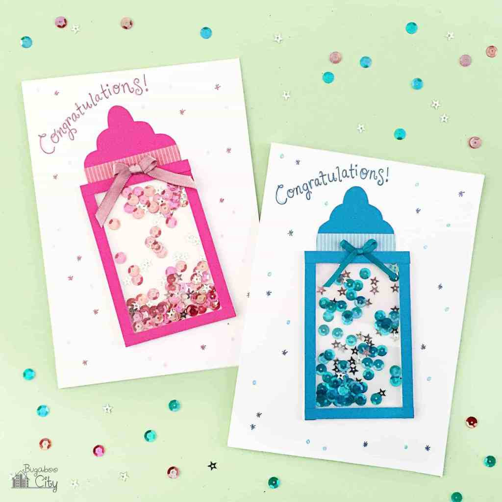 Best ideas about DIY Baby Card . Save or Pin DIY Baby Shower Shaker Card Now.