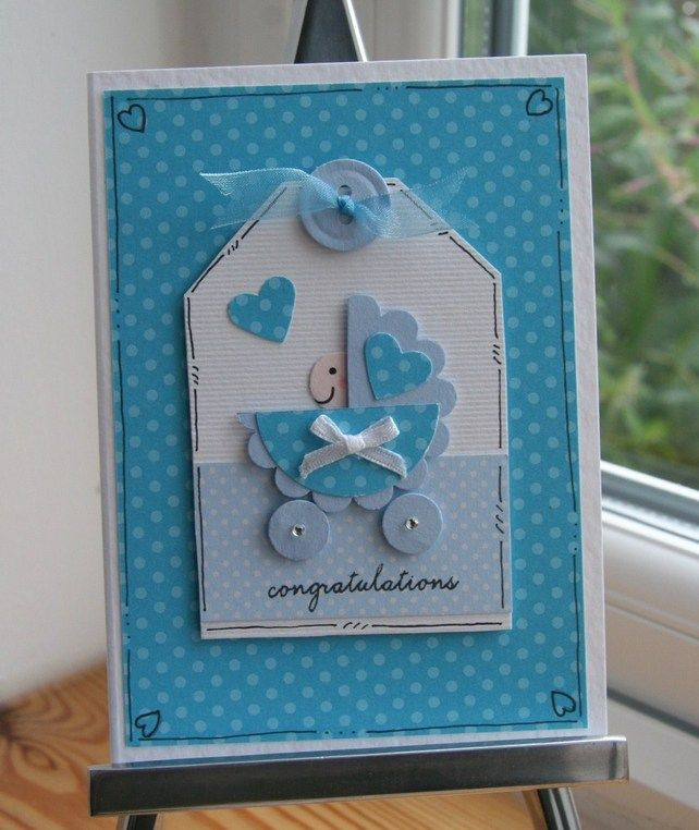 Best ideas about DIY Baby Card . Save or Pin 260 best Cards Baby images on Pinterest Now.