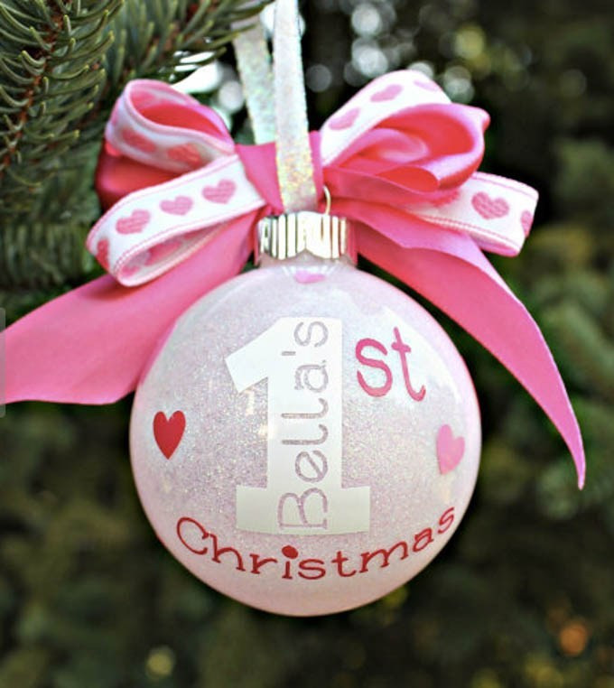 Best ideas about DIY Baby Christmas Ornaments . Save or Pin Baby s First Christmas Ornaments You Can Make Yourself Now.