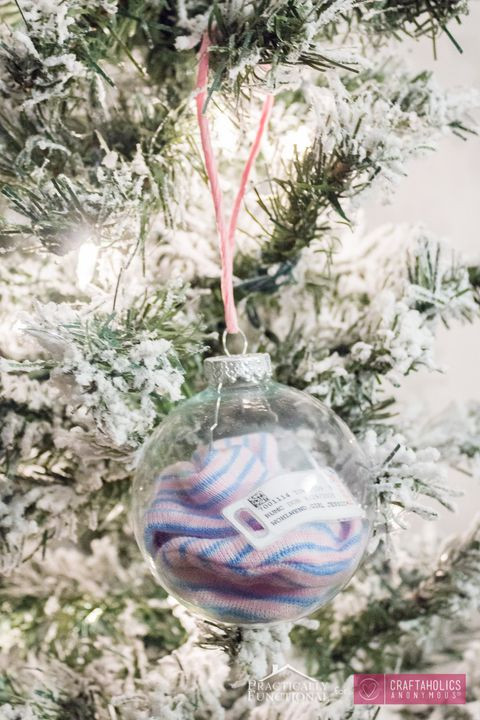 Best ideas about DIY Baby Christmas Ornaments . Save or Pin DIY Baby s First Christmas Ornaments How to Make Now.